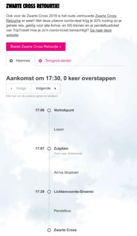 Multimodale reisadvies